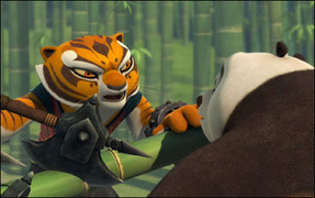 kung fu panda: legends of awesomeness see no weevil