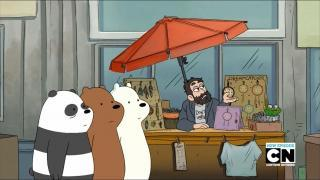 we bare bears pizza band part 1