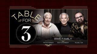 wwe table for 3 next episode air date countdown. Black Bedroom Furniture Sets. Home Design Ideas