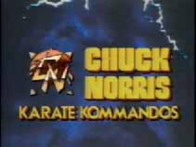 Chuck Norris: Karate Kommandos next episode air date poster