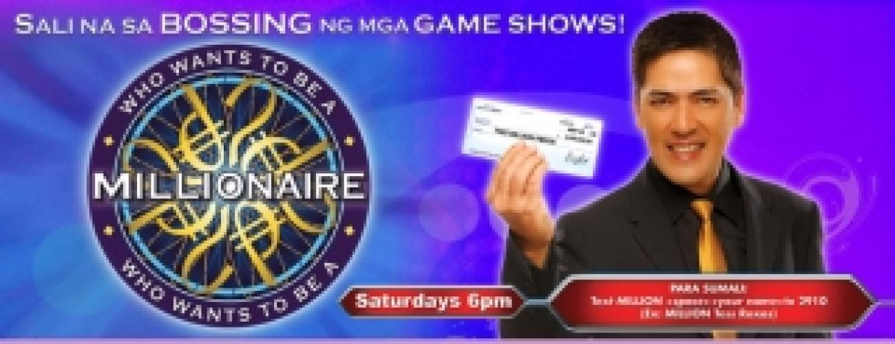Who Wants to Be a Millionaire (PH) next episode air date poster