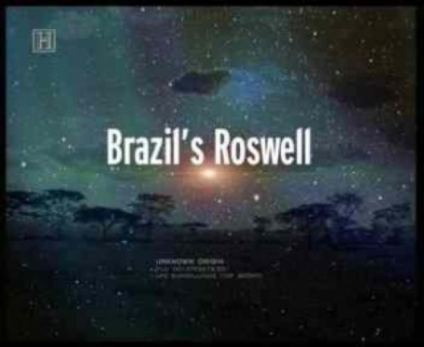 Brazil's Roswell next episode air date poster