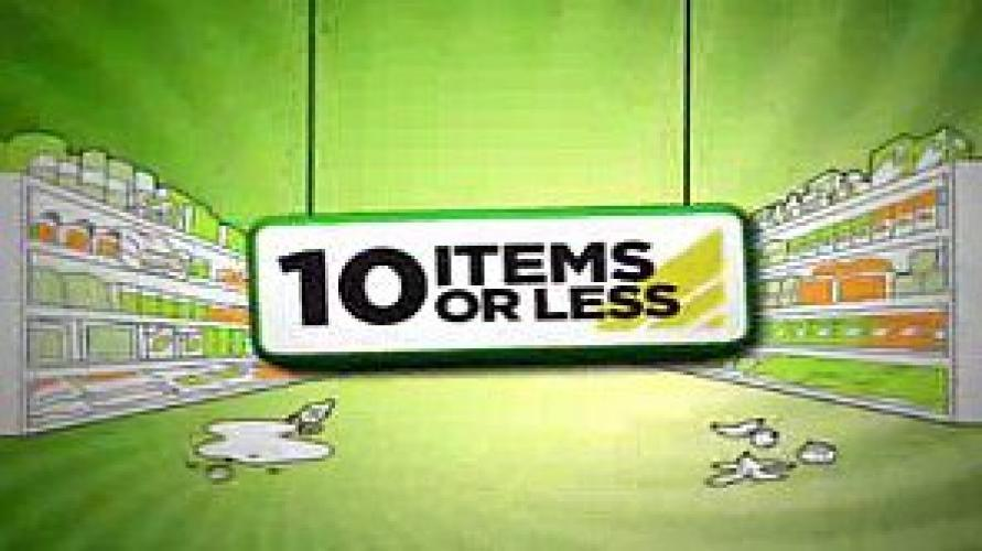 10 Items or Less next episode air date poster