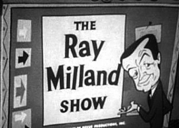 The Ray Milland Show next episode air date poster