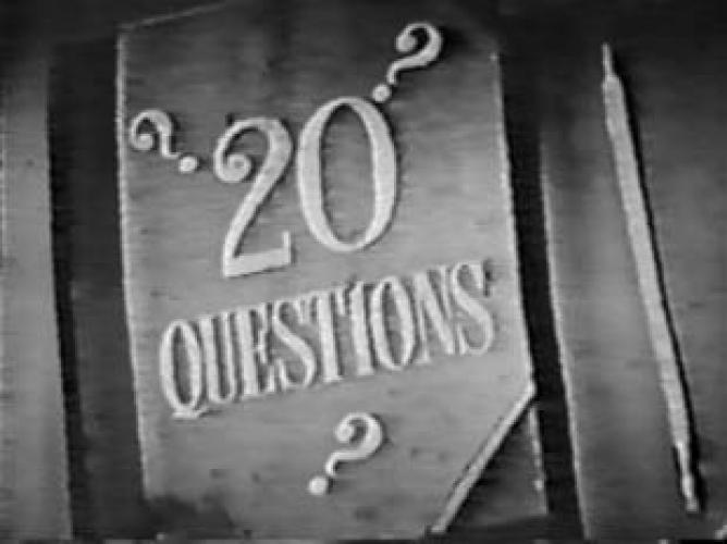 Twenty Questions next episode air date poster