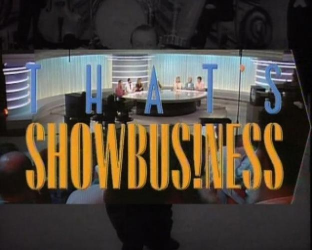 That's Showbusiness next episode air date poster