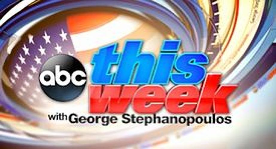 This Week with George Stephanopoulos next episode air date poster