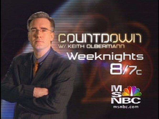 Countdown with Keith Olbermann next episode air date poster
