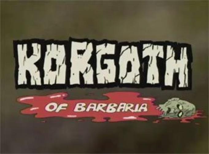 Korgoth of Barbaria next episode air date poster