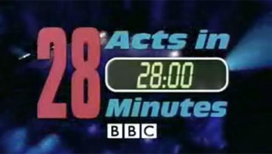 28 Acts In 28 Minutes next episode air date poster