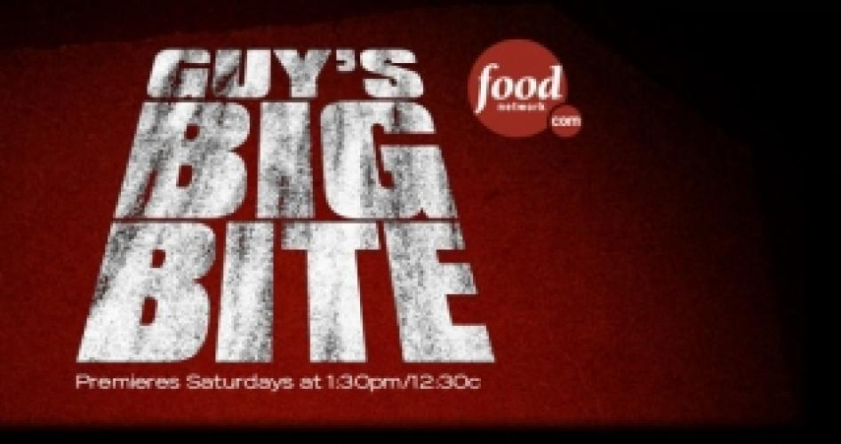 Guy's Big Bite next episode air date poster
