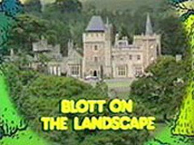 Blott on the Landscape next episode air date poster