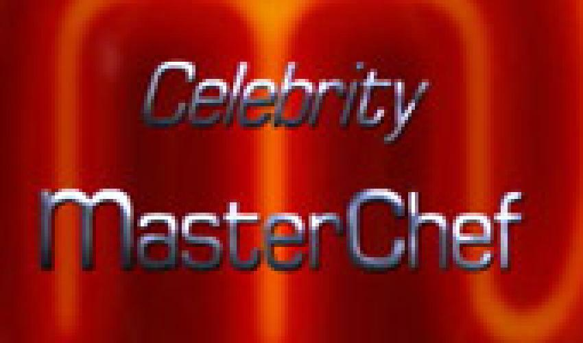 Celebrity MasterChef next episode air date poster