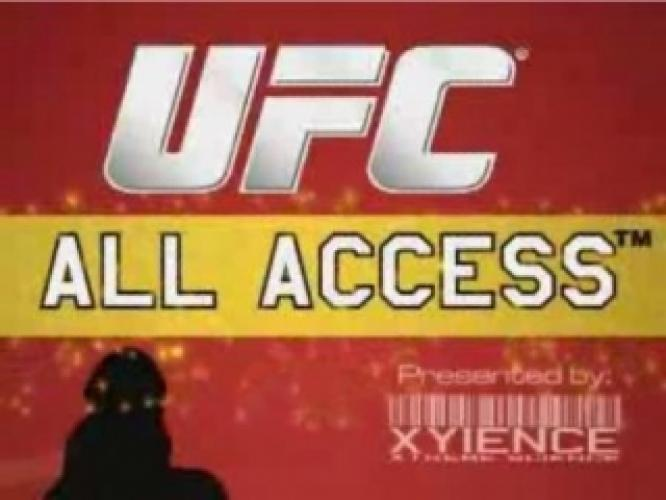 UFC All Access next episode air date poster