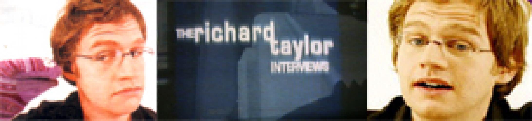 The Richard Taylor Interviews next episode air date poster