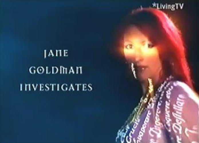 Jane Goldman Investigates next episode air date poster