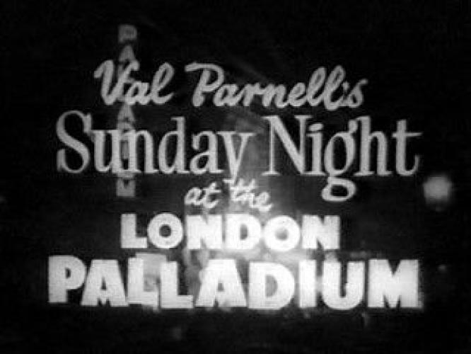 Val Parnell's Sunday Night at the London Palladium next episode air date poster