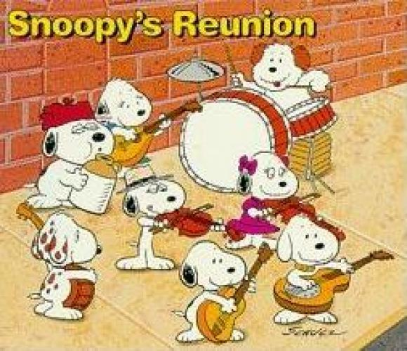 Snoopy's Reunion next episode air date poster