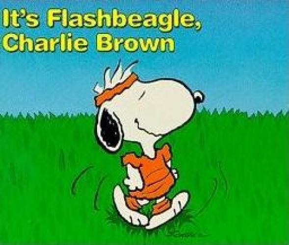 It's Flashbeagle, Charlie Brown next episode air date poster