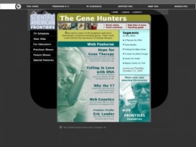 The Gene Hunters next episode air date poster