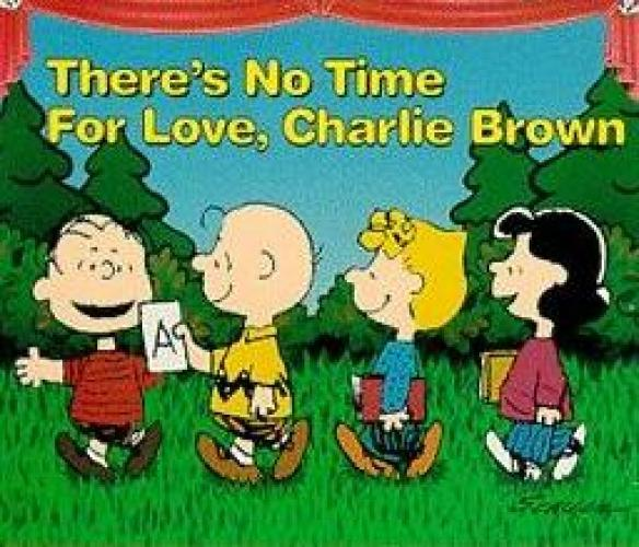 There's No Time for Love, Charlie Brown next episode air date poster