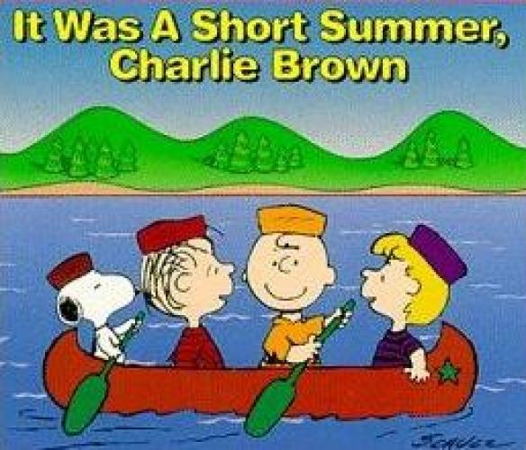 It Was a Short Summer, Charlie Brown next episode air date poster