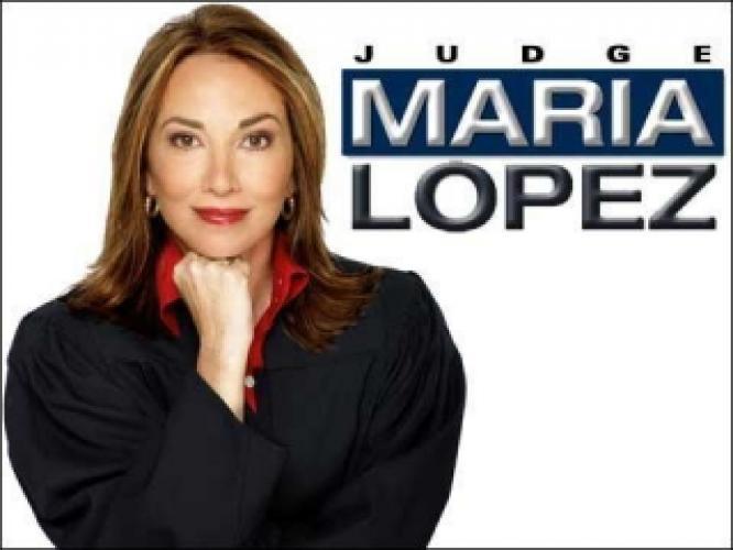 Judge Maria Lopez next episode air date poster