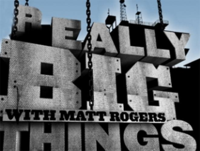 Really Big Things next episode air date poster