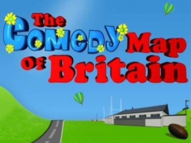 Comedy Map of Britain next episode air date poster
