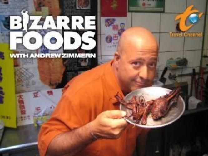Bizarre Foods with Andrew Zimmern next episode air date poster