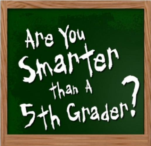 Are You Smarter Than a 5th Grader? next episode air date poster