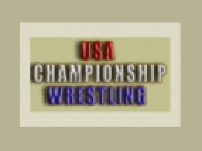 USA Championship Wrestling next episode air date poster