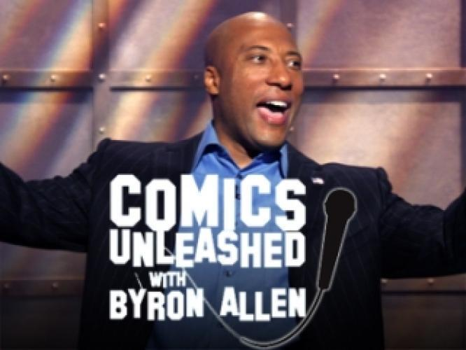 Comics Unleashed With Byron Allen next episode air date poster