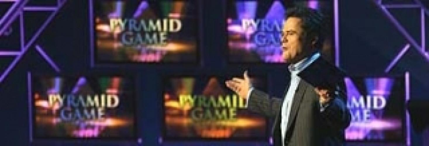 The Pyramid Game with Donny Osmond next episode air date poster