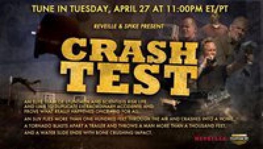 Crash Test next episode air date poster
