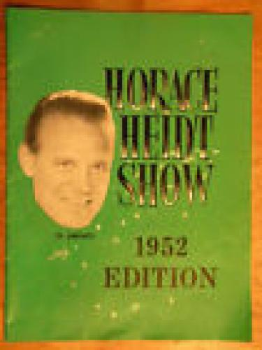 The Horace Heidt Show next episode air date poster