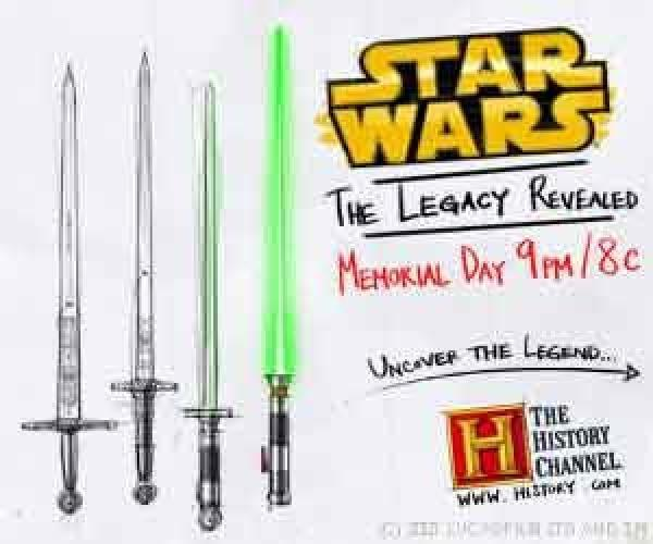 Star Wars: The Legacy Revealed next episode air date poster