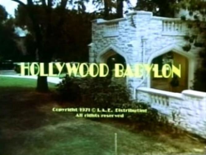 Hollywood Babylon next episode air date poster