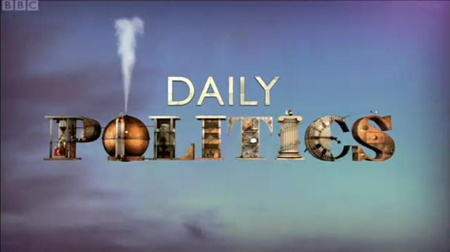 The Daily Politics next episode air date poster