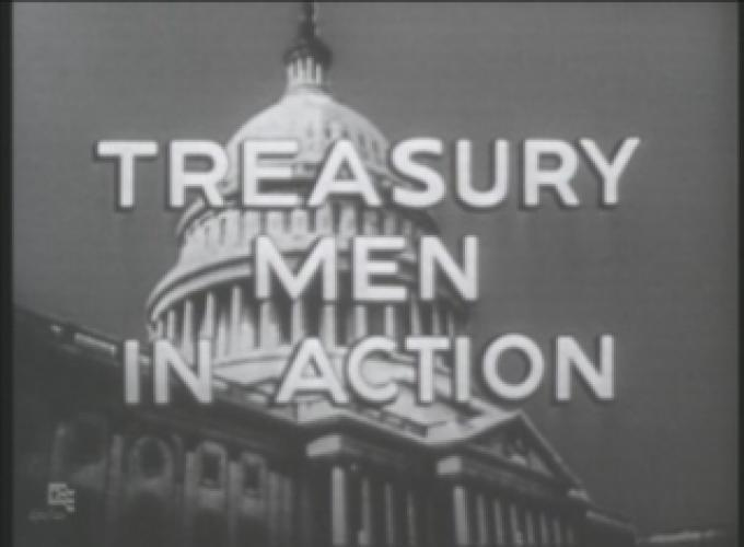Treasury Men in Action next episode air date poster