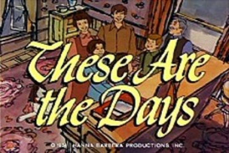 These Are The Days next episode air date poster