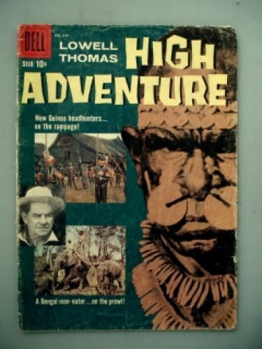 High Adventure with Lowell Thomas next episode air date poster