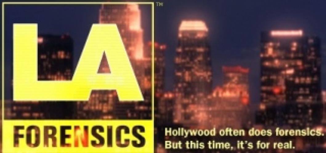 L.A. Forensics next episode air date poster