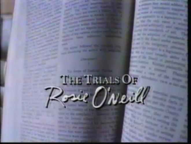 The Trials of Rosie O'Neill next episode air date poster