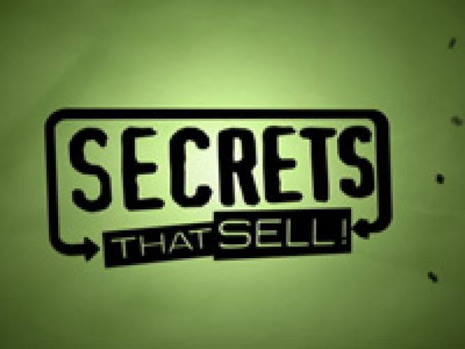 Secrets That Sell next episode air date poster