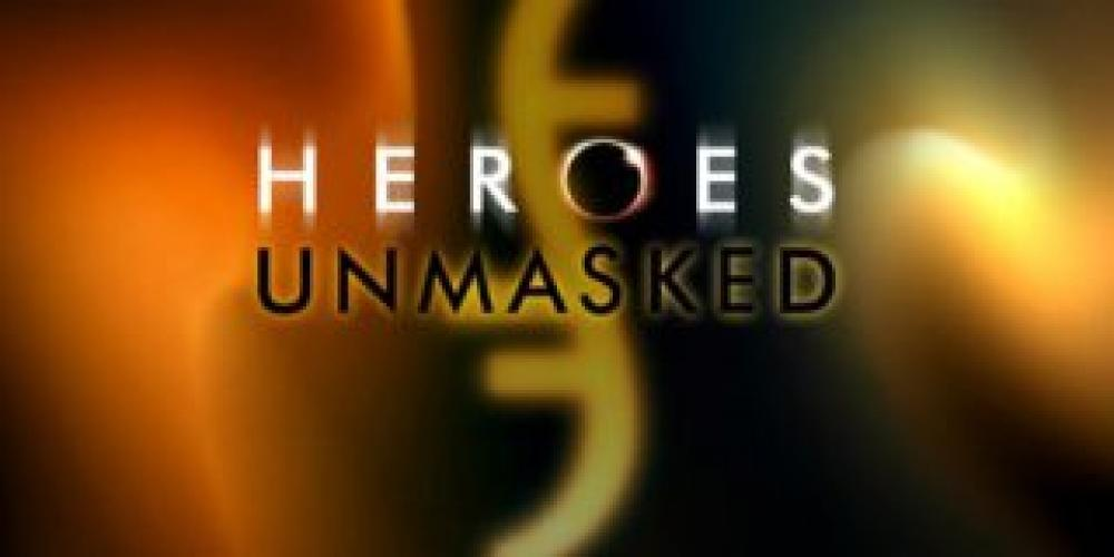 Heroes Unmasked next episode air date poster