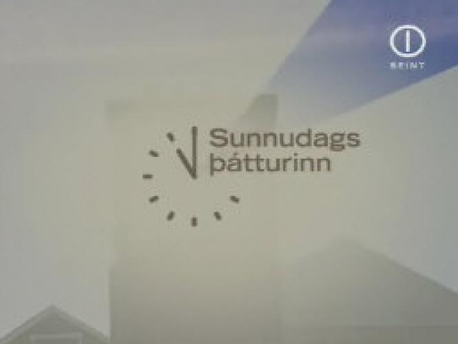 Sunnudagsþátturinn next episode air date poster