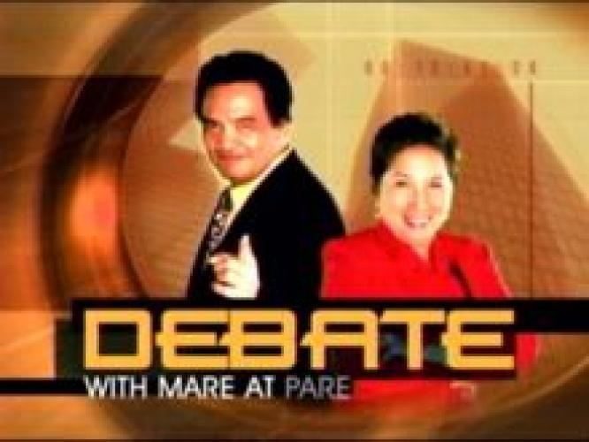 Debate with Mare at Pare next episode air date poster