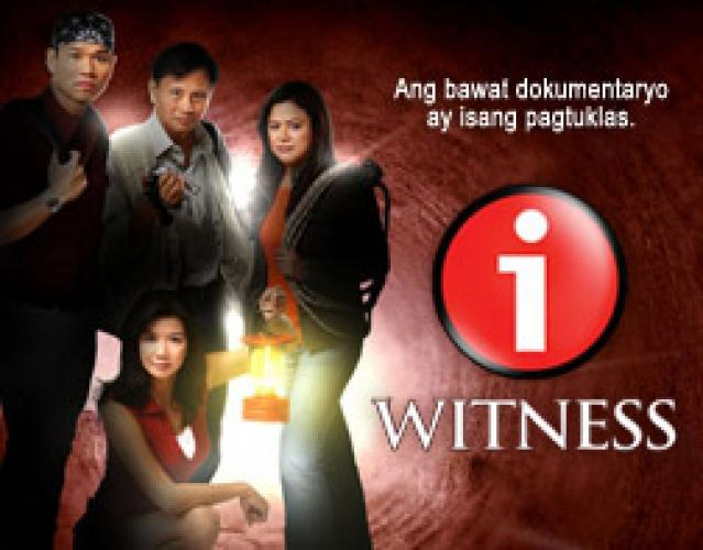 I-Witness next episode air date poster
