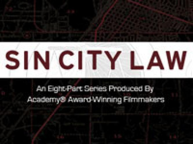 Sin City Law next episode air date poster